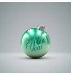 Christmas ball Holiday vector