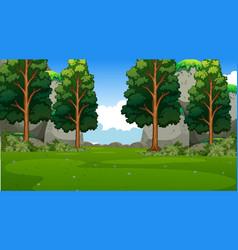 Empty background nature scenery vector