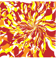 fire abstract background vector image