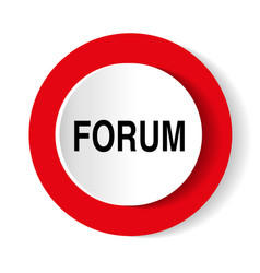 Forum icon vector