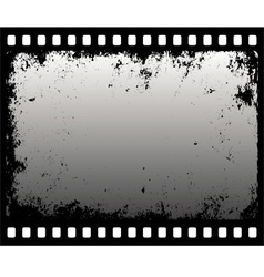 Grunge filmstrip vector
