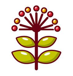 Honey flower icon cartoon style vector