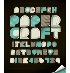 Paper Craft vector