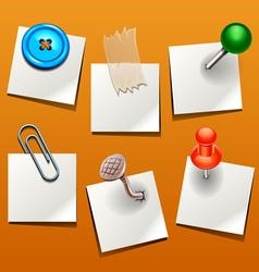 push pin various vector image