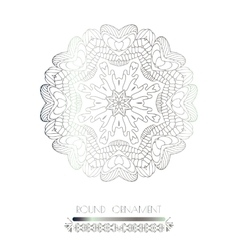 Royal circle design elements vector image