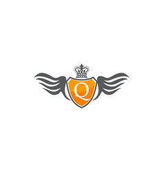 Wing shield crown initial q vector