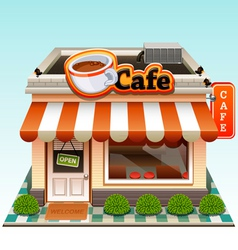 cafe icon vector image