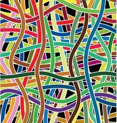 wavy lines vector image vector image