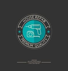 house repair vector image