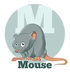 ABC Cartoon Mouse vector image