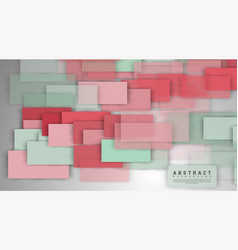 abstract background overlapping full-color square vector image