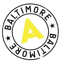 Baltimore stamp rubber grunge vector