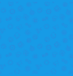 Business startup blue pattern seamless vector