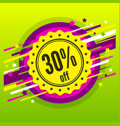 discount badge stamp sticker tag label vector image