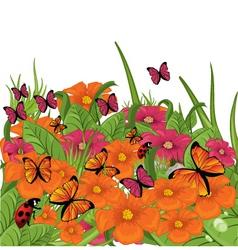 garden season vector image