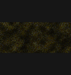 halftone golden background vector image