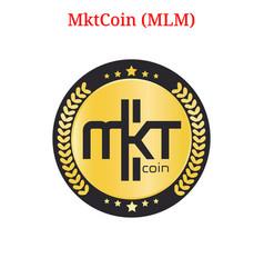 Mktcoin mlm logo vector