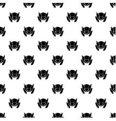 motorcycle helmet design pattern seamless vector image