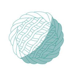 Pie icon image vector