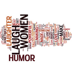 Power humor text background word cloud vector