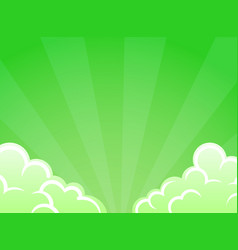 saturated juicy unusual background green color vector image