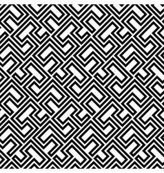Seamless Geometric Pattern by Stripes vector image