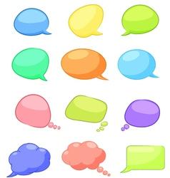Speech vector image