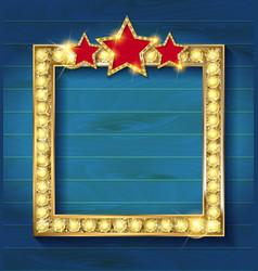 square blank cinema vector image vector image