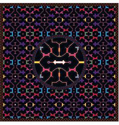 6th shipibo conibo artwork 12-patterns hd set vector