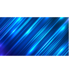 abstract background with blue motion blur vector image