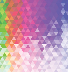Abstract colorful background with triangle 02 vector