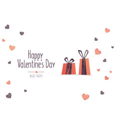 big sale of valentines day vector image