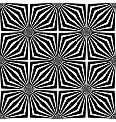 Black and white abstract geometric background vector