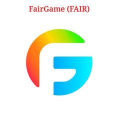 Fairgame fair logo vector