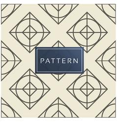 geometric pattern grey background image vector image