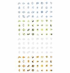 Modern logo designs vector