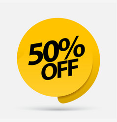 Sale special offers discount with price is vector
