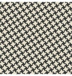 geometric monochrome seamless pattern vector image