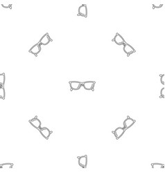 Accounting glasses pattern seamless vector