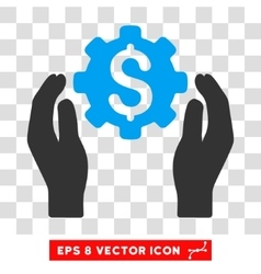 Banking Maintenance Hands Eps Icon vector