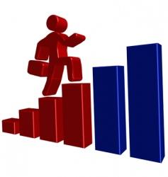 Business presentation background vector