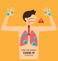 Covid-19 coronavirus prevent outbreak concept vector