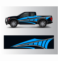 custom livery race rally offroad car vehicle vector image