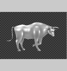 happy chinese new year 2021 year ox lunar vector image