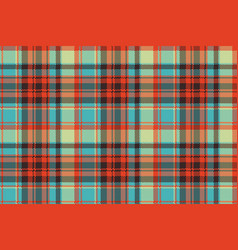 pop art color check plaid pixel seamless fabric vector image