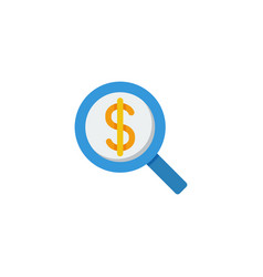 search money icon vector image