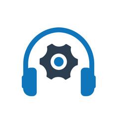 Technical service icon vector