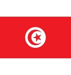 Tunisia flag image vector