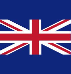 Union jack flag vector