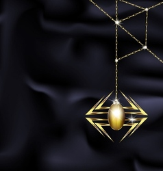 jewelry spider vector image vector image